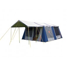 Kaimai Canvas Tent Coleman plus FREE  sunroom valued at $699.99 (note sunroom is beige and Khaki)